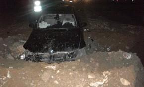 Dois acidentes em simultâneo em desvio e obras do IP4 (Podence)