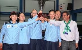 Seniores Femininas conquistam 15º título nacional de ténis de mesa