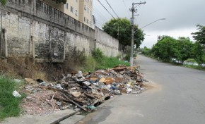Lixo ilegal está a indignar empresários da zona industrial