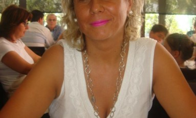 Elisabete Alves, defensora da permanência do helicóptero em terras macedenses, em entrevista à Onda Livre