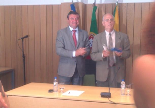 Medalha de Dedicação e Bons Serviços foi entregue a Frei Francolino