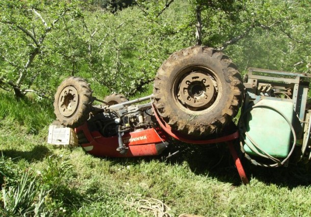 Agricultor morre em acidente de trator
