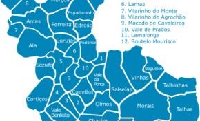 8 freguesias do Concelho de Macedo de Cavaleiros vão ser agregadas