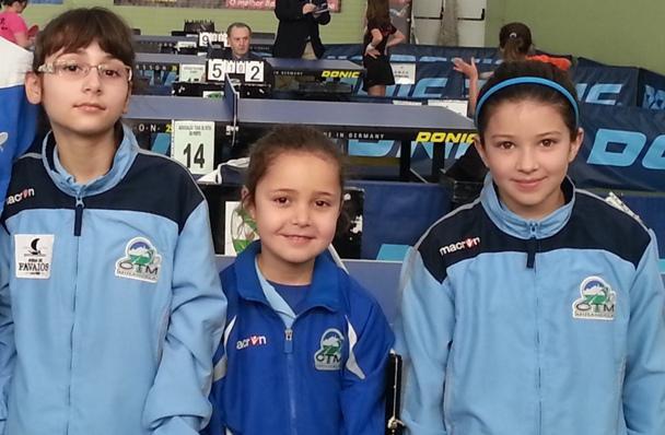 CTM Mirandela conquista título nacional de iniciados femininos