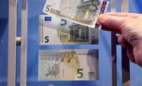 Novas notas de 5 euros entram esta quinta-feira em circulação