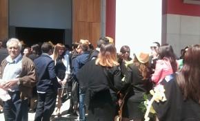 Estudantes levam Macedo prá vida