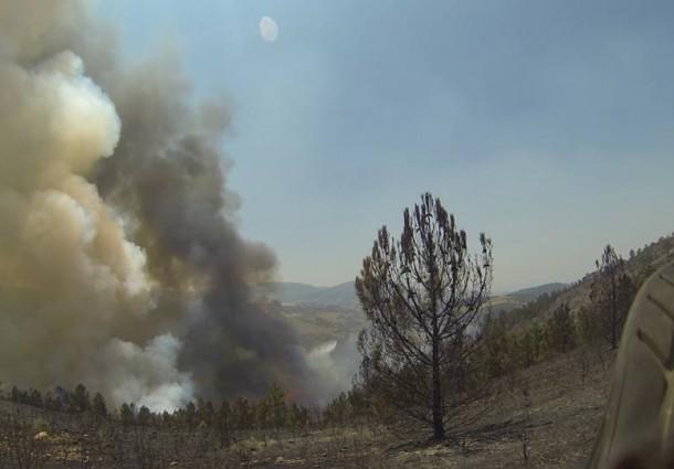 É hora de fazer contas aos prejuízos do incêndio que devastou o sul do distrito