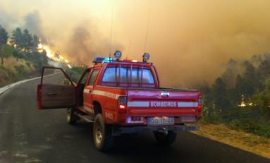Cinco concelhos em risco máximo de incêndio esta quinta-feira