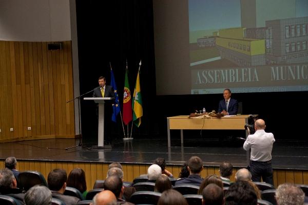 Duarte Moreno tomou posse como Presidente da Câmara Municipal