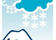 Vento forte e previsão de queda de neve para os próximos dias