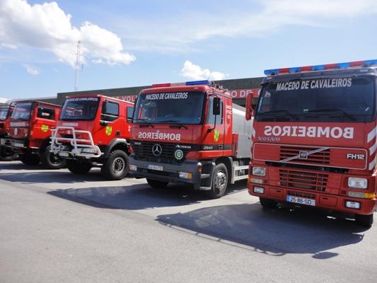 Bombeiros Voluntários de Macedo pedem maior apoio da autarquia para este ano