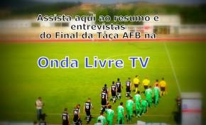 Vejo o resumo e entrevistas do final da Taça AFB  Argozelo x Vimioso