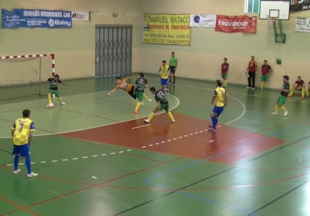 Macedense faz primeiro ponto na II Divisão. Veja em vídeo, na sua, ONDA LIVRE TV