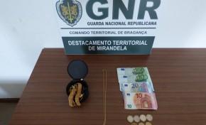 Jovem detida com ouro furtado no concelho de Mirandela