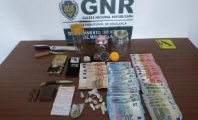 Mirandela: Jovem de 24 anos suspeito de tráfico de droga
