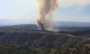 Fogo em Vale de Asnes em fase de resolução