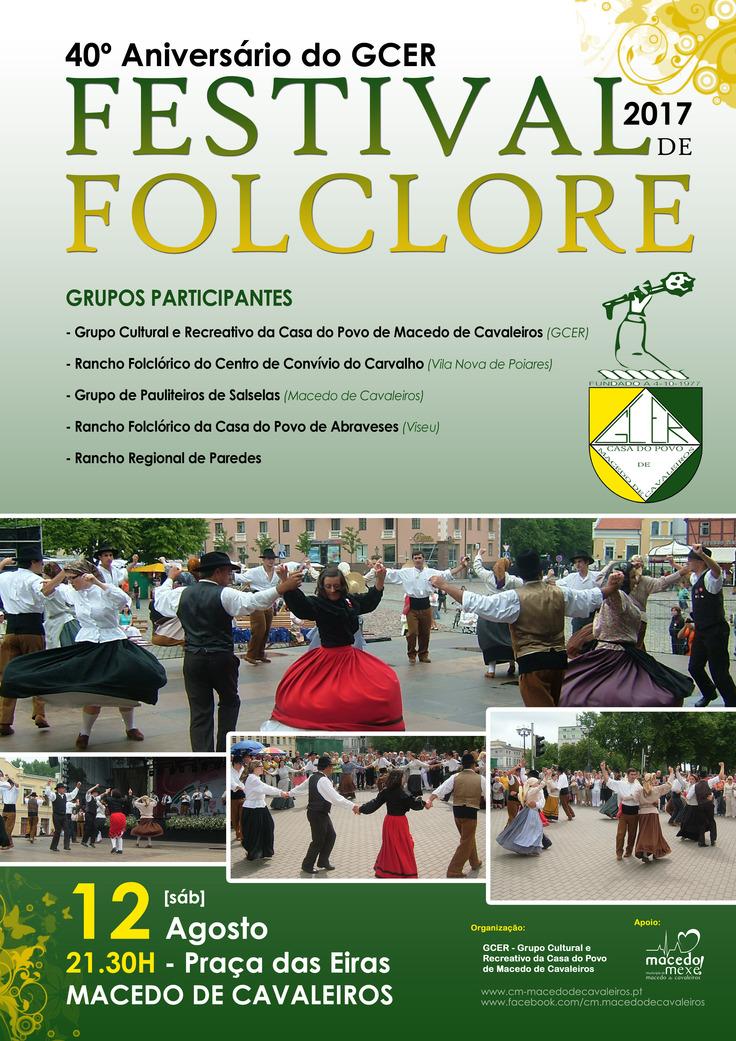Festival de Folclore traz hoje música a Macedo