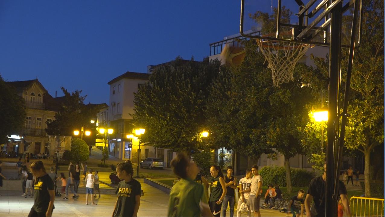 Basquetebol na rua para cativar mais atletas