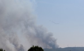 Fogo de Chacim alastrou ao termo do Olmos e Malta (atualização)