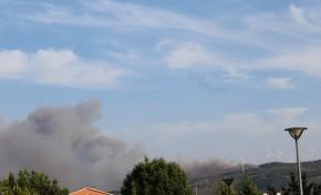 Incêndio continua a lavrar perto da aldeia de Chacim (atualização)