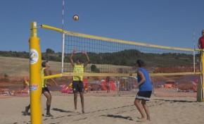 Já se joga no Azibo para decidir o Campeonato Nacional de Voleibol de Praia
