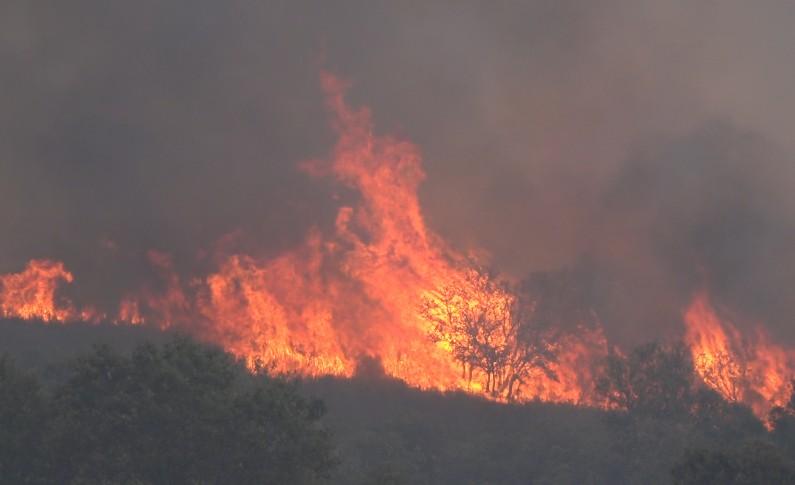 Chamas lavram em Vila Verde desde as 21h00 de ontem
