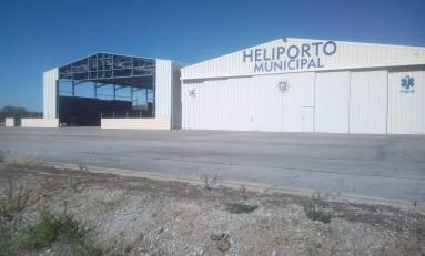 Novo hangar para helicópteros deve estar pronto até o final de setembro