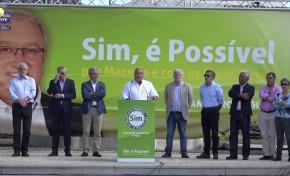 """ONDA LIVRE TV - Candidatura """"Sim, é Possível"""" apresenta mote de campanha"""