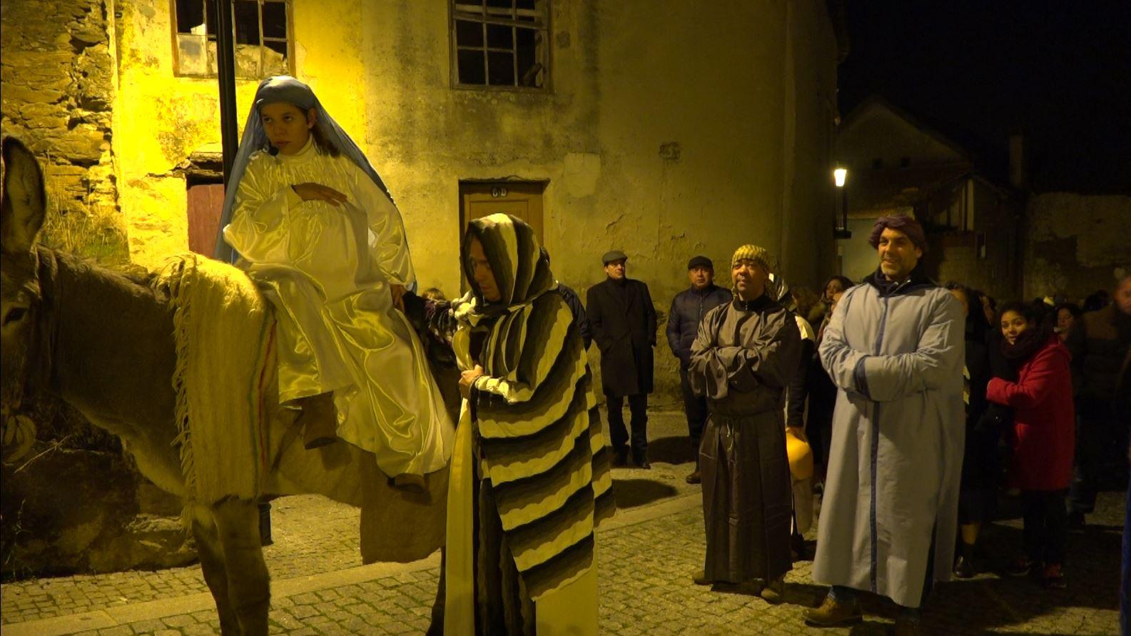 """""""Anúncio"""" à Virgem Maria abre atividades natalícias na cidade de Macedo"""