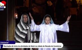 """ONDA LIVRE TV – """"O Anúncio"""" dá início à época natalícia em Macedo de Cavaleiros"""