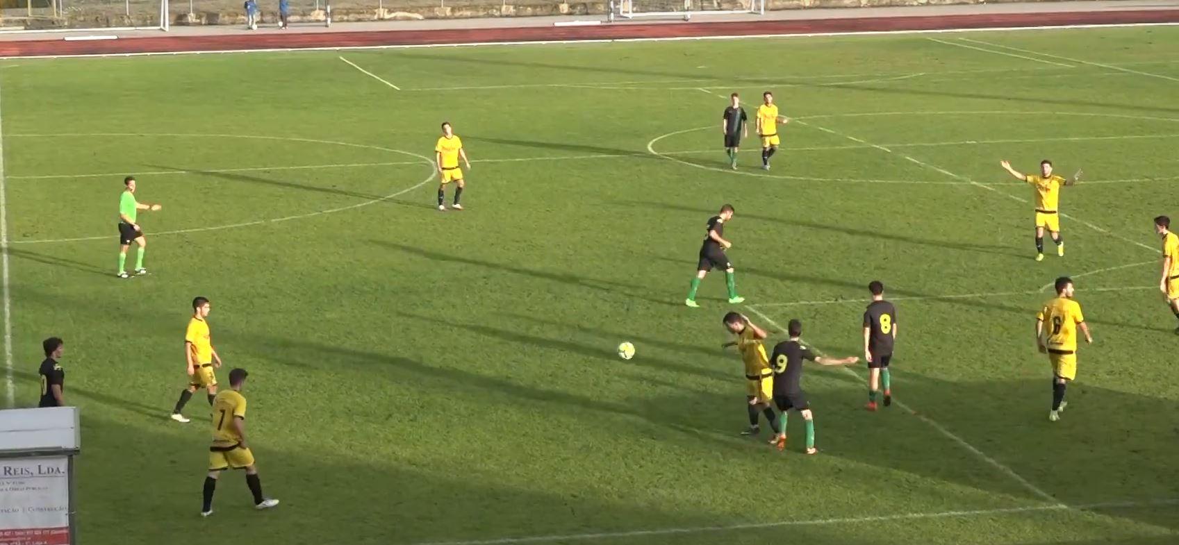 Juniores de Macedo conseguem pontuar pela primeira vez neste campeonato
