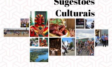 Sugestões Culturais para o fim de semana