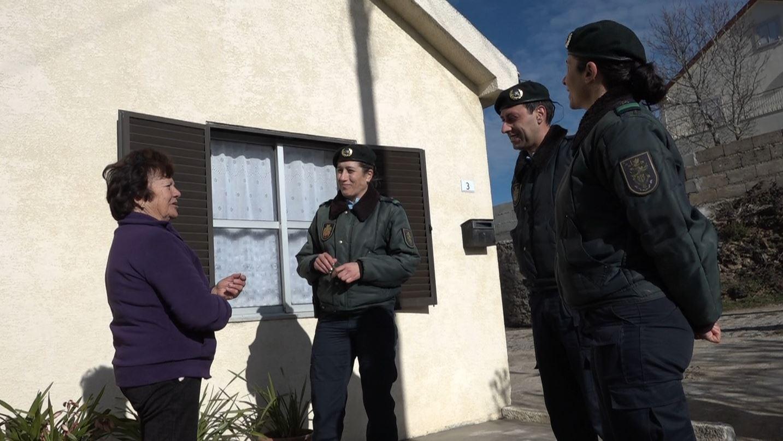 GNR percorre aldeias para alertar os mais idosos sobre a vaga de frio