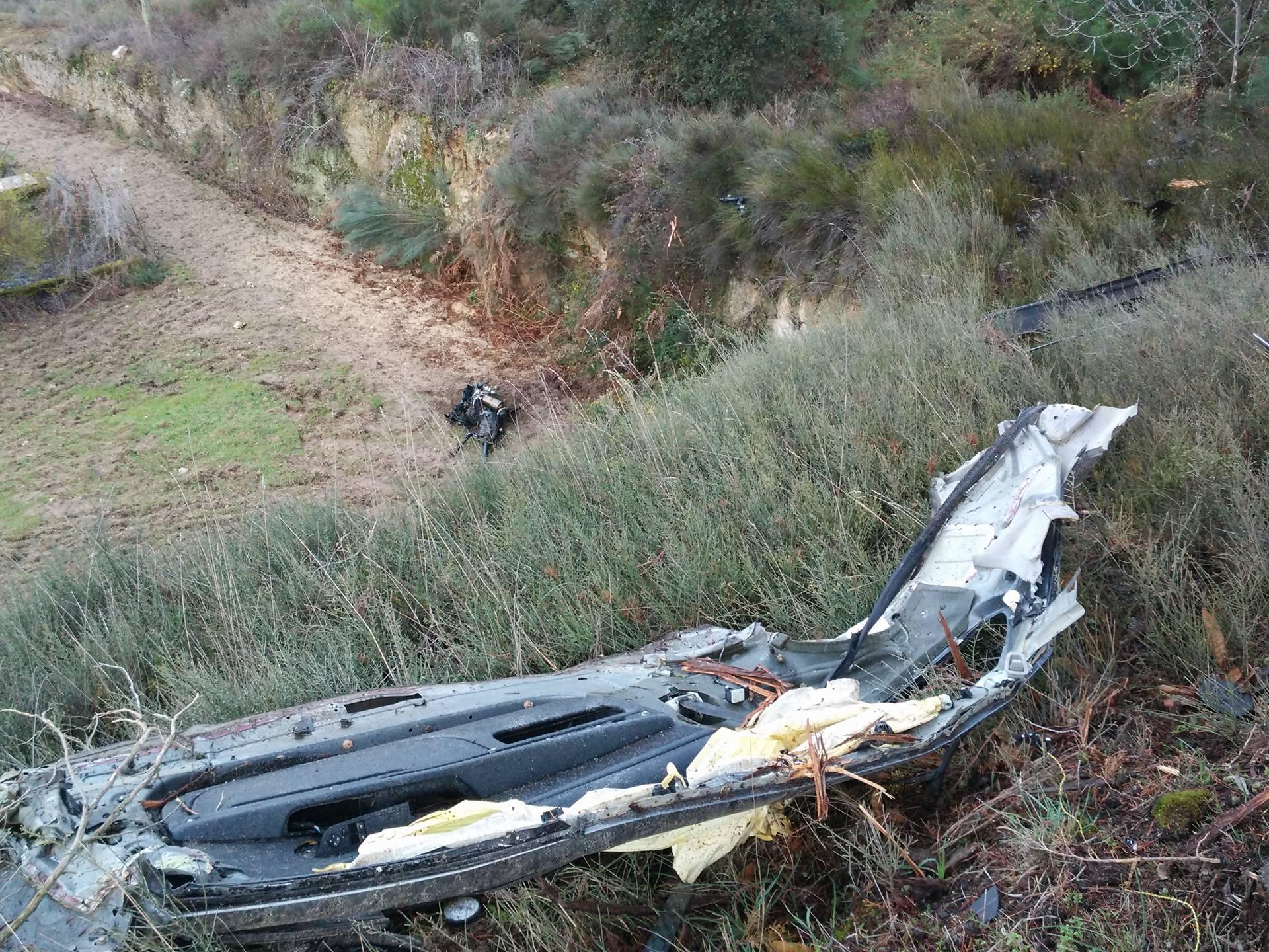 Pai e filha perdem a vida em acidente de viação