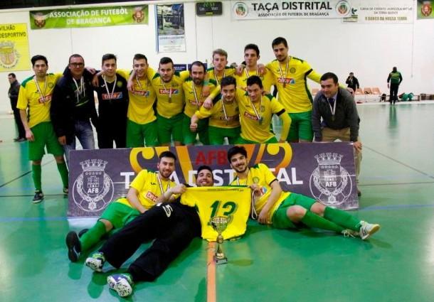 GDM vence Taça de Futsal da Associação de Futebol de Bragança