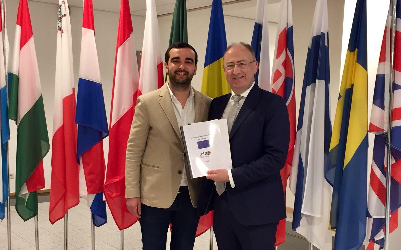 JSD Distrital propõe criação do primeiro Feriado da Europa