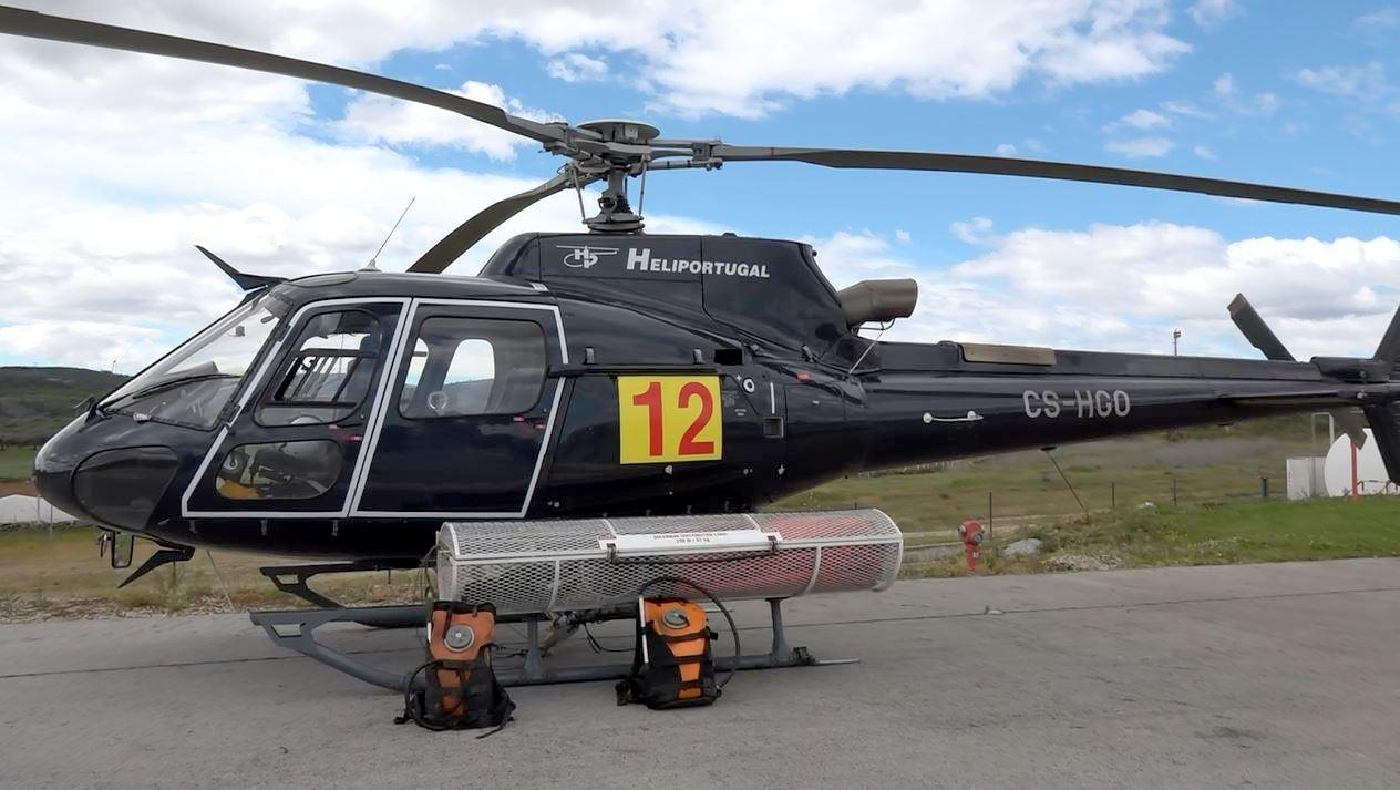 Já está posicionado em Macedo o primeiro helicóptero bombardeiro em permanência no distrito