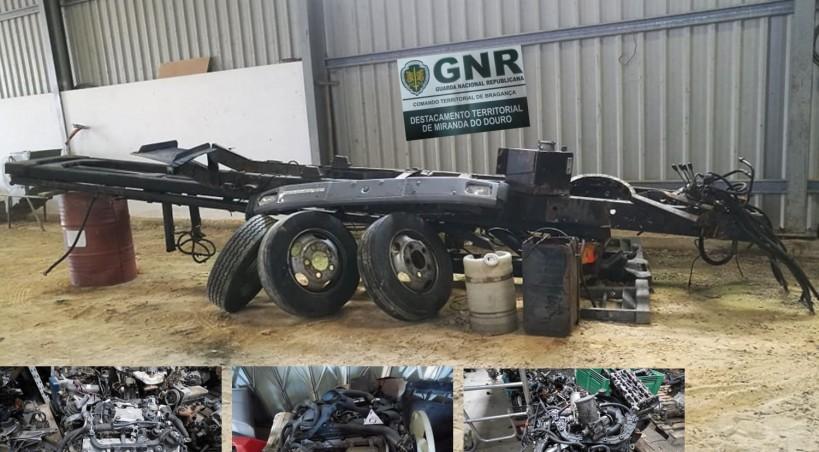 Três detidos por suspeitas de furto de veículos no distrito de Bragança