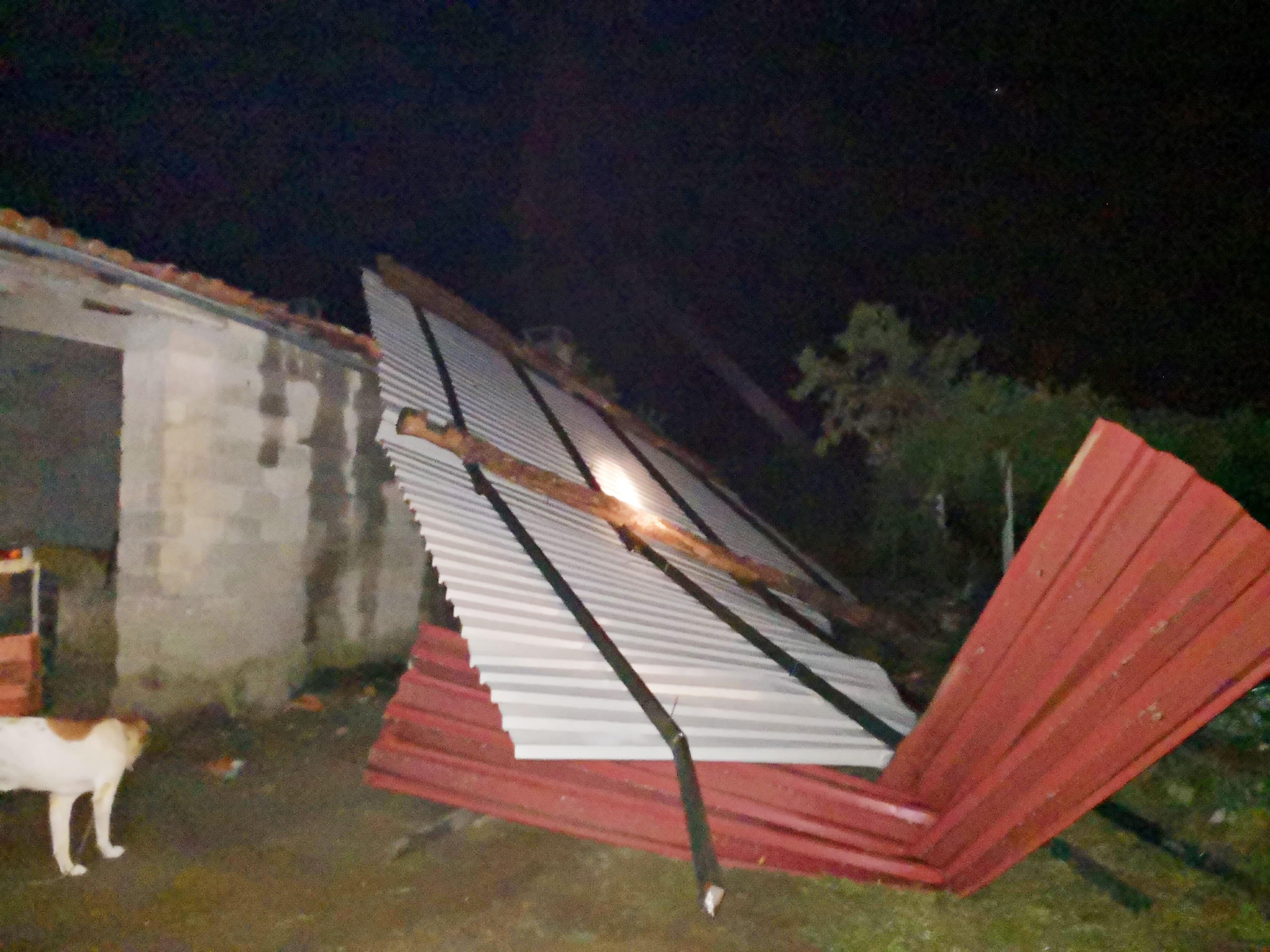 Tempestade levanta telhados e provoca inundações no concelho Macedense