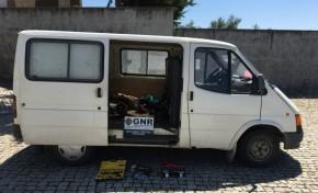 Detidos por roubar metais no concelho de Bragança