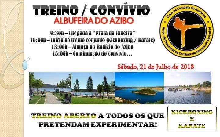ADCMC/CCN promove treino aberto este sábado na Praia da Ribeira (Azibo)