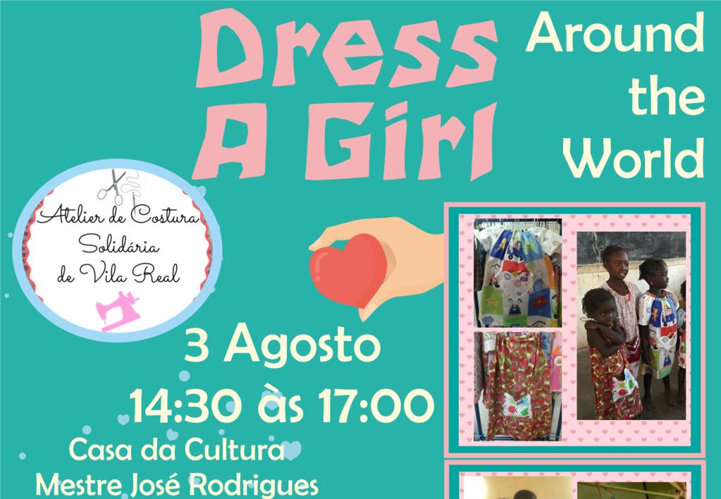 Workshop de costura leva ajuda a crianças de países pobres