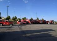 Reforço de meios de combate até terça-feira para fazer face aos risco máximo de incêndio no distrito