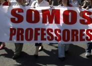 Professores do distrito saem à rua em protesto no dia 4 de outubro