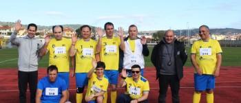 Utentes do Centro Social dos Santos Mártires mostraram os seus dotes em atletismo