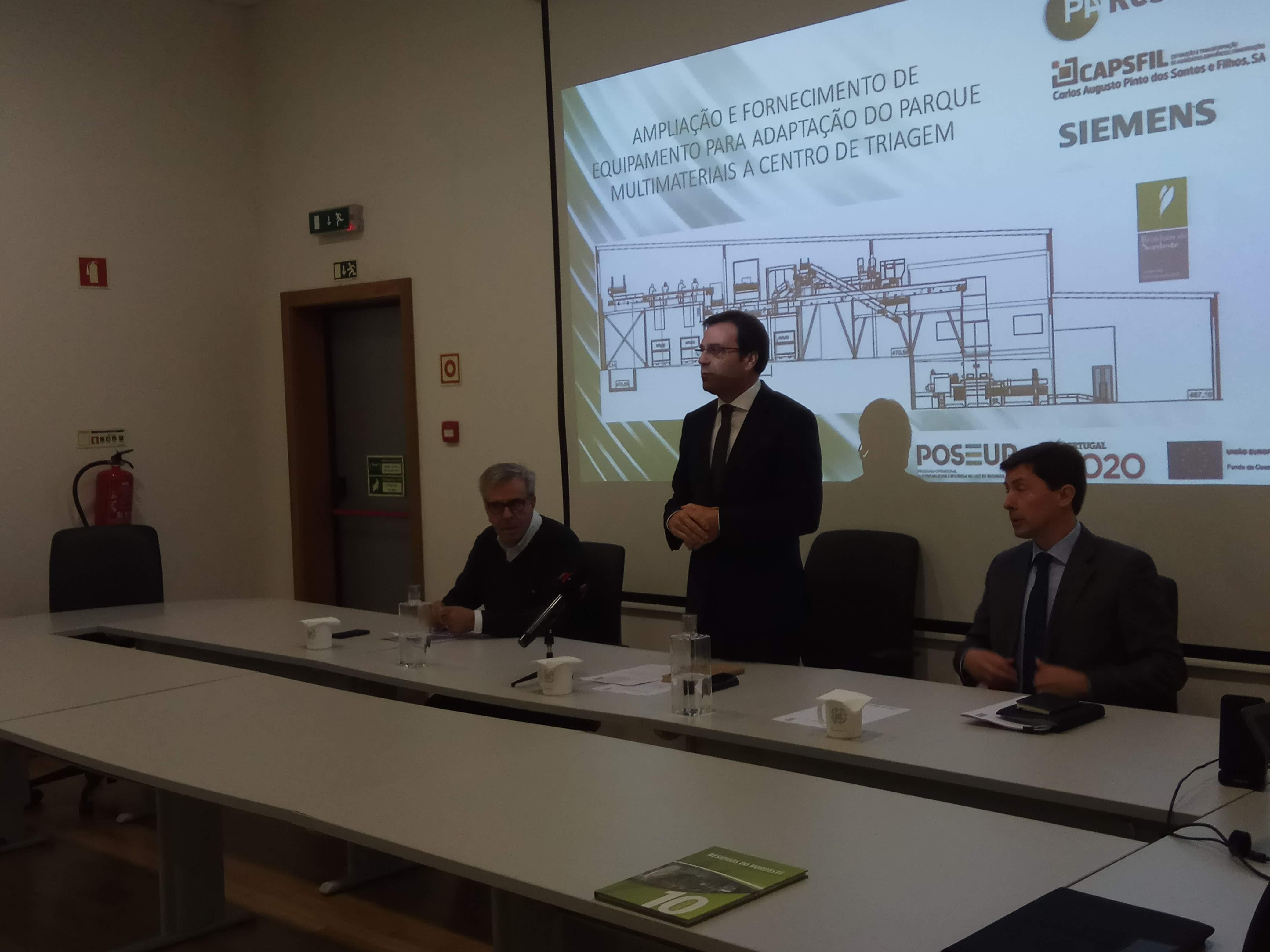 Resíduos do Nordeste investe cerca de dois milhões de euros em centro de triagem