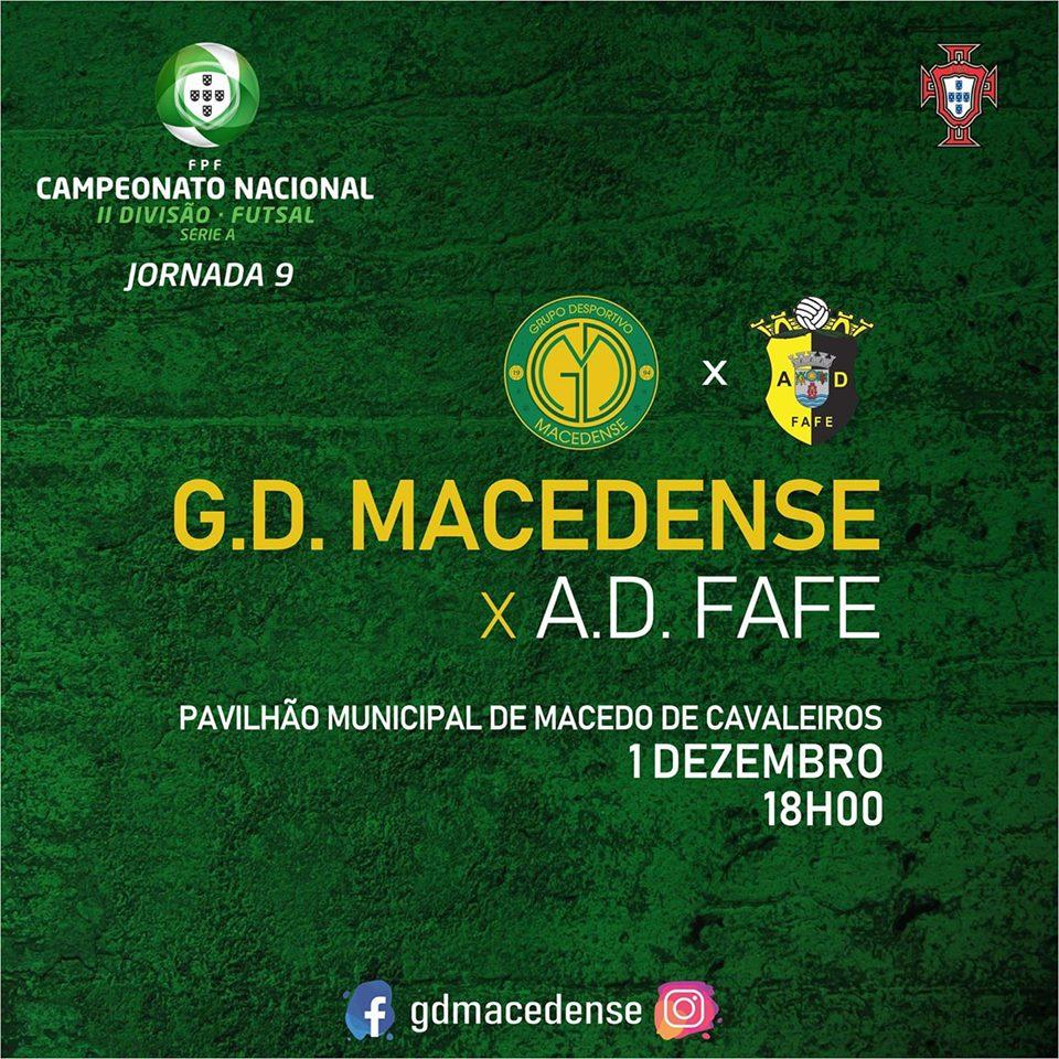 """GDM joga amanhã frente ao Fafe num jogo que é """"importante vencer"""""""