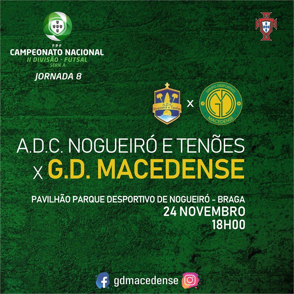 """GDM encontra amanhã o Nogueiró e Tenões para uma disputa """"muito complicada"""""""
