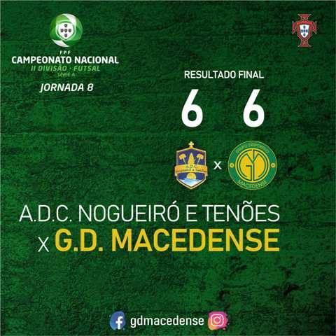 GDM consegue empate com o Nogueiró num jogo marcado pela instabilidade