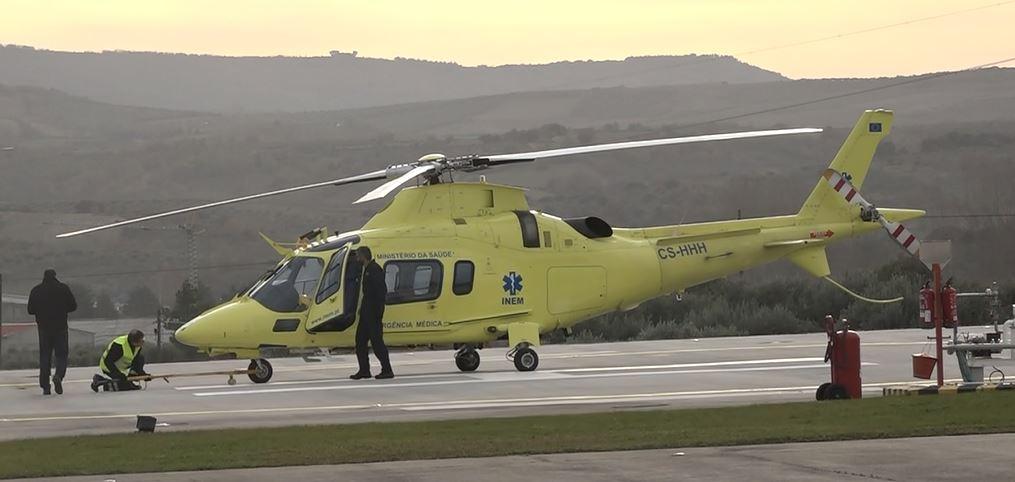 Já chegou a Macedo de Cavaleiros o novo helicóptero do INEM
